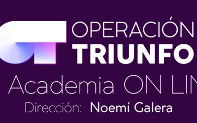 Llega la Academia online de Operación Triunfo